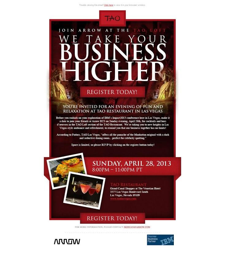 IT Event Invitation